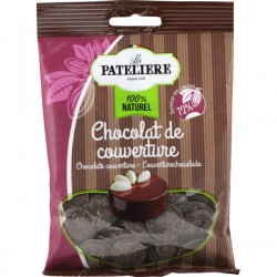 Chocolade pastilles voor  toppings 100g
