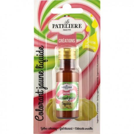 Natuurlijke Vloeibare kleurstof (geel) 20 ml