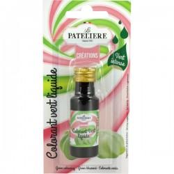 Natuurlijke Vloeibare kleurstof (groen) 20 ml