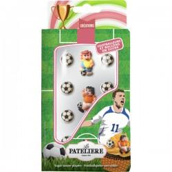 Suikerfiguren voetbalspelers