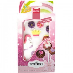 Suikerfiguren princessen