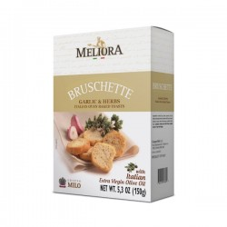 Bruschette ail & fines herbes boite 150g