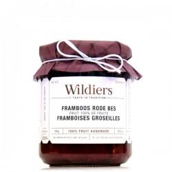 Confitures 100% fruit framboises & fruits rouges 285g