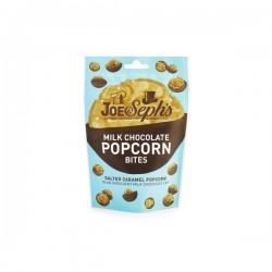 Melkchocolade met gezouten caramel popcorn 63g