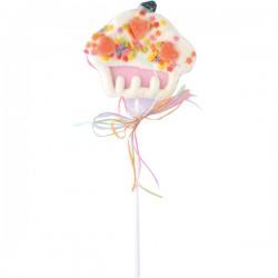 Muffin Marshmallow pop pink 35g