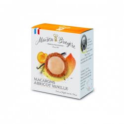 Macarons Abricot Vanille 50g