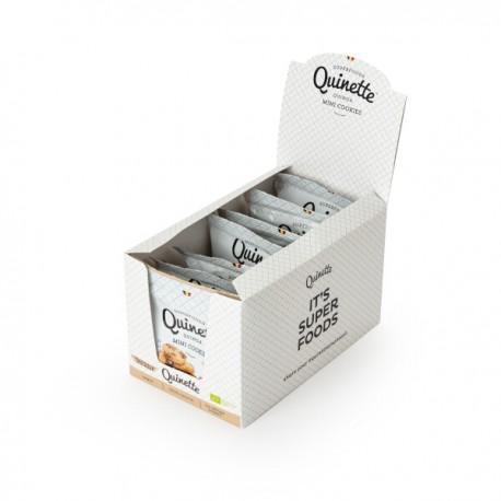 Quinoa Super Mini CHOCOLAT cookies BIO  (glutenvrij-vegan) 12x35g
