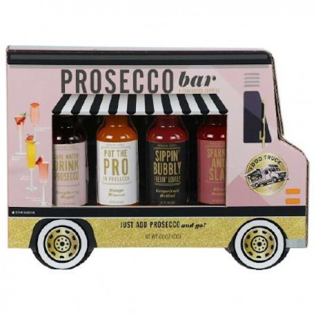 Vrachtwagen met Prosecco mixers 4st.