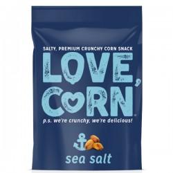 Krokante mais snack met zeezout 45g