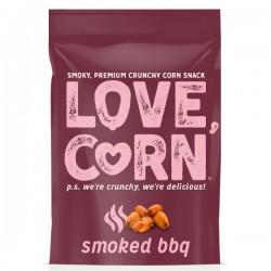 Krokante mais snack met gerookte BBQ 45g
