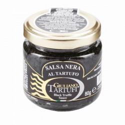 Zwarte saus met truffel (zomertruffel 5%) 80 g
