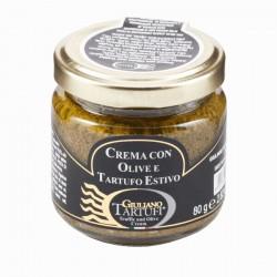 Spécialité à base d'Olives et truffe d'été 80g