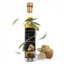 Extra zuivere olijfolie met witte truffel + EXTRA TRUFFEL STUKJES 100ml