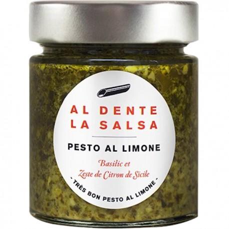Pesto met citroen 135g