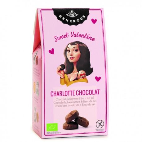 Charlotte chocolat Edition St. Valentin BIO (sans gluten) 120g