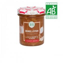 BIO Sinaasappel- en Citroenmarmelade 230 g