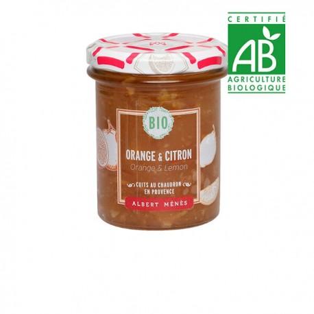 BIO Marmelade d'Orange et de Citron 230 g                                Disponible au 1er juillet 2020