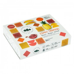 "Gechenkdoosje ""Esprit Tropical"" Pâtes de fruits 24st. 330g"