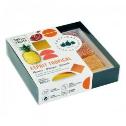 "Gechenkdoosje ""Esprit Tropical"" Pâtes de fruits 18st. 240g"