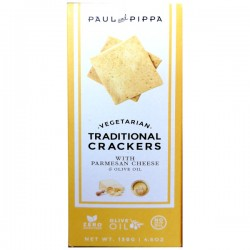 Traditionele Crackers Parmesan 130g