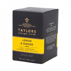 Lemon & Ginger Infusion thee 20s