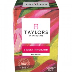 Sweet Rhubarb Infusion thee 20s