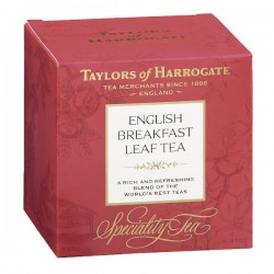 English Breakfast losse thee cartons 100g